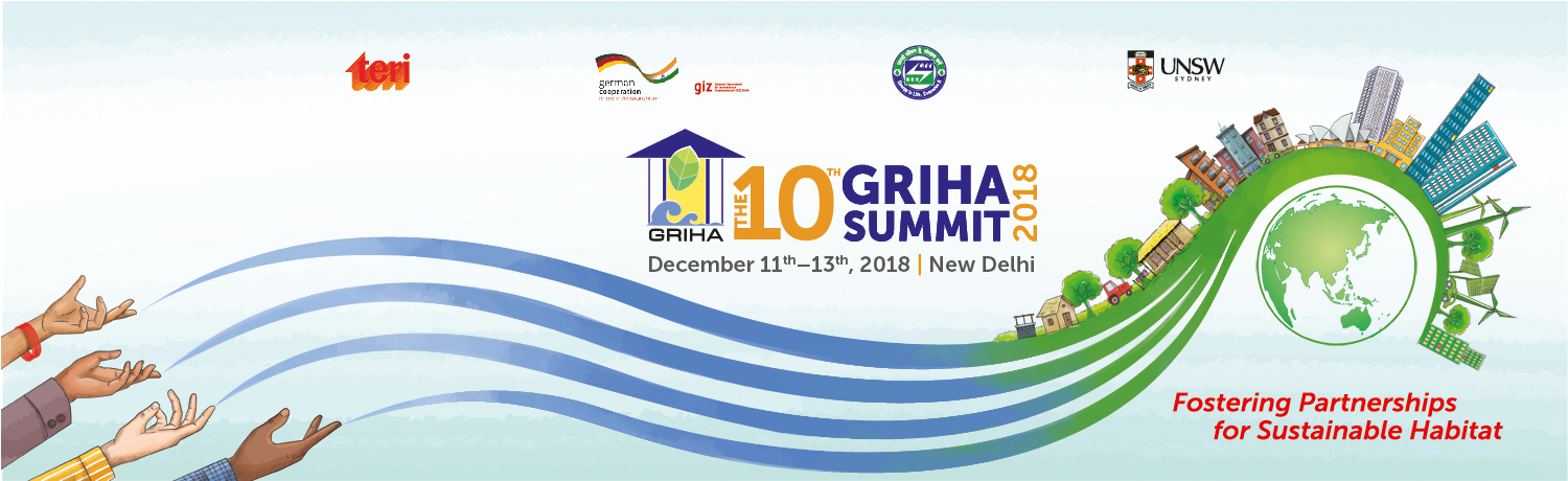 THE 10th GRIHA SUMMIT 2018 Banner