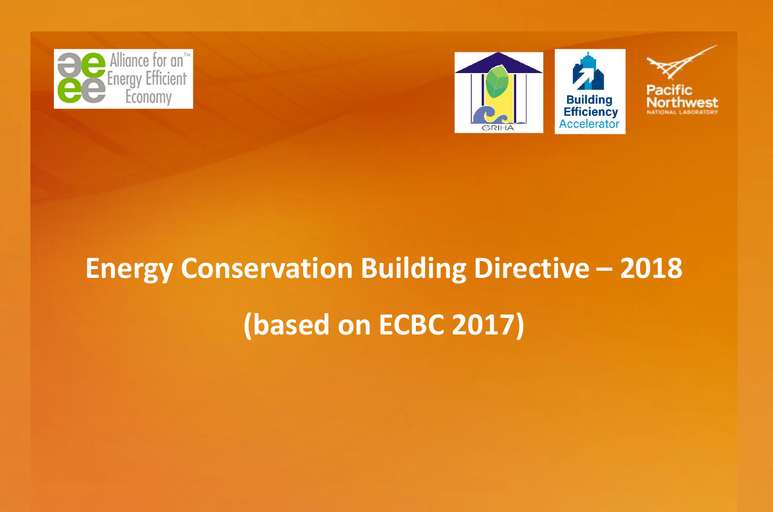 Introductory presentation to ECBC 2017