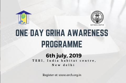 One Day Awareness Programme on GRIHA for Green Buildings